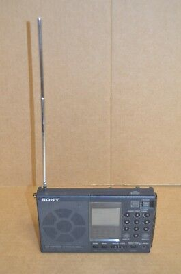 SONY ICF-SW7600 SW/MW/LW/FM Shortwave RADIO World-Band Receiver **Read**