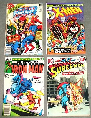 WHOLESALE LOT 10 SILVER/BRONZE AGE COMIC BOOKS Marvel DC ++ 1950s 1960s 1970s