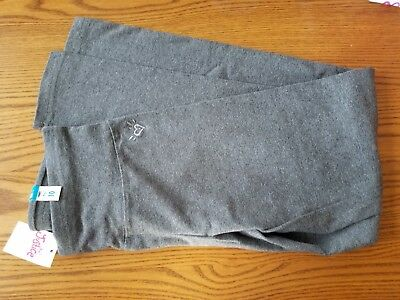 Gray JUSTICE Leggings  GIRLS SIZE 10 NEW with TAGS