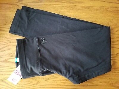 Black JUSTICE Leggings  GIRLS SIZE 10 NEW with TAGS