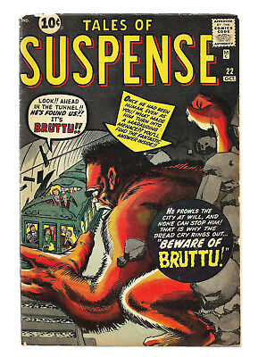 Tales of Suspense #22 1961 Kirby, Ditko
