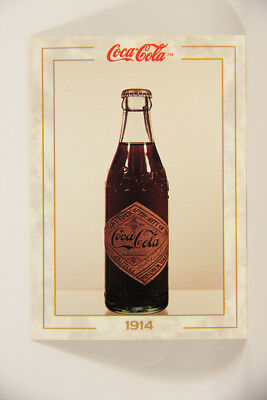 L004748 Coca-Cola Collection / 1914 Clear Bottle (1900-1915) / Card #20 ENG 1993