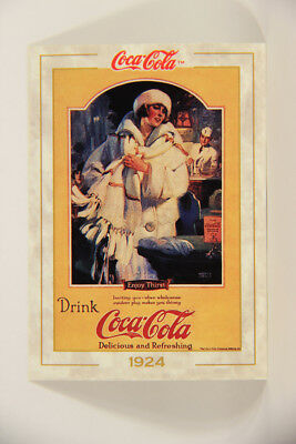 L004750 Coca-Cola Collection / 1924 Magazine Advertising / Card #22 ENG 1993
