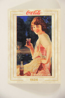 L004751 Coca-Cola Collection / 1924 Calendar Girl / Card #23 ENG 1993