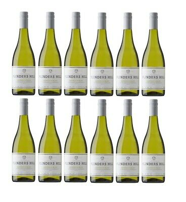 Flinders Hill Chardonnay White Wine 2015 (12x750ml) Free Shipping! RRP$199