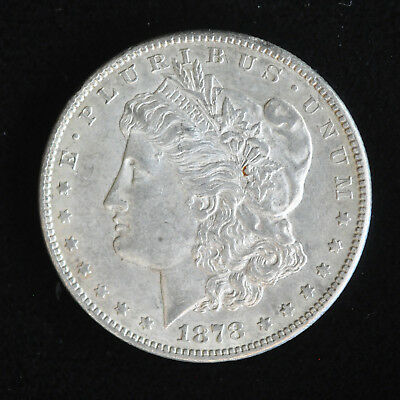 Morgan Silver Dollar 1878 CC