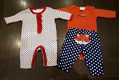 Baby Girl Bundle - 3 items (Carters/Marquise) - Size 000