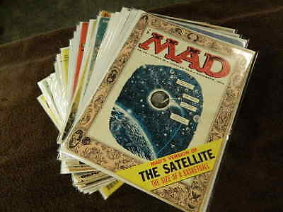 Huge Lot 32 Rare Early 1955-82 MAD Magazines #26, 31, 32, 34, 35, 38, 40, 43, 44
