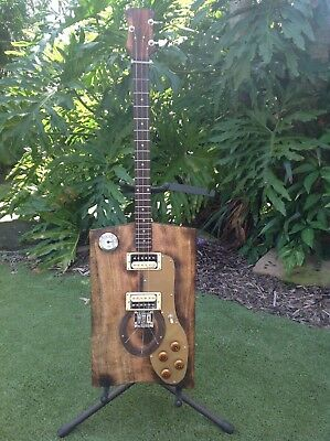 """""""The Stablecaster"""" cigar box guitar. Great sound great price."""