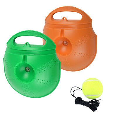Singles Tennis Trainer Training Ball Self-study Tool Baseboard 3pc Rebound Balls