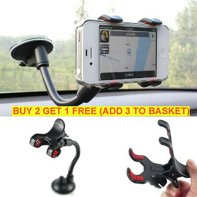 Universal 360° in Car Windscreen Dashboard Holder Mount For GPS Mobile Phone AU
