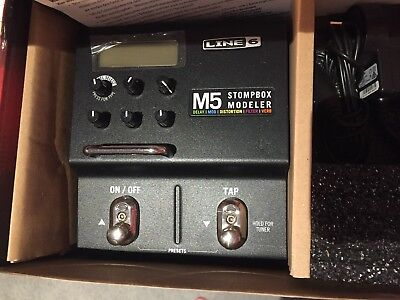 Line 6 M5 Stompbox Modeler Electric Guitar Multi-Effects FX Pedal
