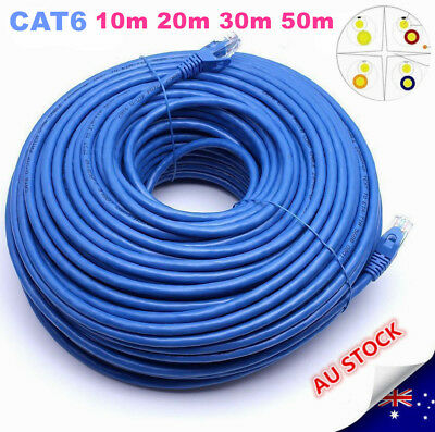10M/20M30M/50M Cat6 Network Ethernet  Rj45 Cable 100M/1000Mbps 1 Year Warranty