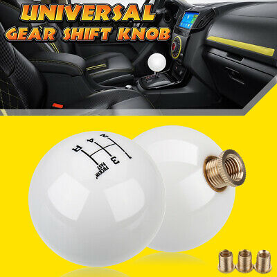 5 Speed Round Ball Gear Shift Knob Short Throw Shifter Lever M10X1.5 Universal