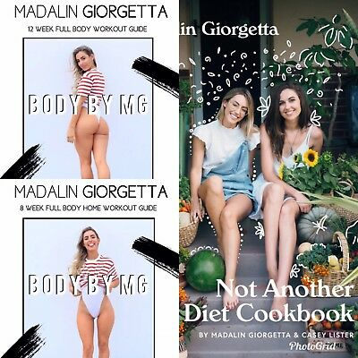 Madalin Giorgetta: Body by MG + Not Another Diet Cookbook