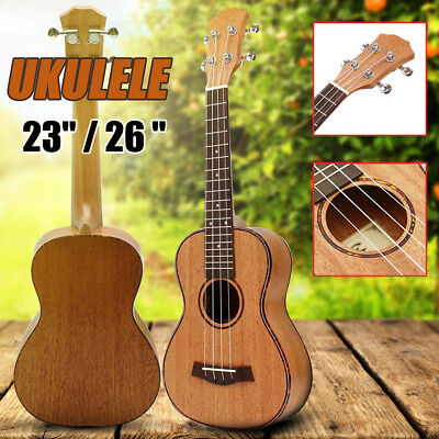 2018 Professional NEW 23/26'' Concert Tenor Ukulele Uke Hawaii Acoustic Gift AU