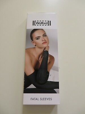 Wolford Fatal Sleeves Handschuhe holly berry red S NEU OVP