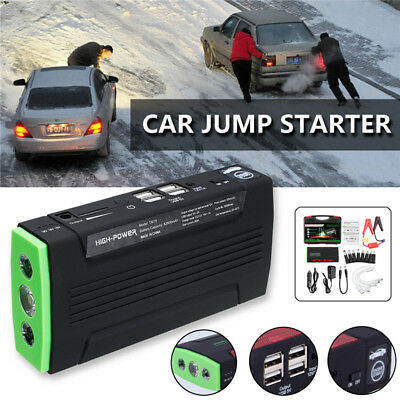 82800mAh LED Car Jump Starter Battery Charger Booster Emergency Power Bank