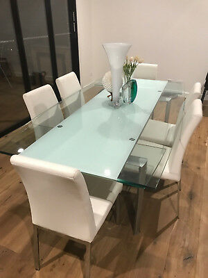 Dare Gallery Glass Extending Dining Table