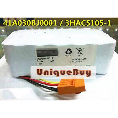 1pc New for ABB 3HAC5105-1 41A030BJ00001 21.6V 1.5AH Mechanical arm battery