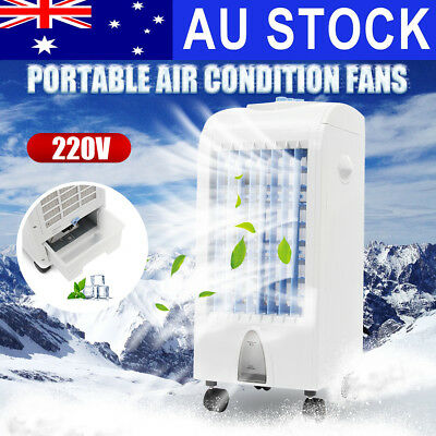 75W 220V Portable Air Conditioner Fan Conditioning Cooler Cooling Humidifier 5L