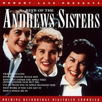 The Best of the Andrews Sisters BRAND NEW SEALED CD 20 GREATEST E0443