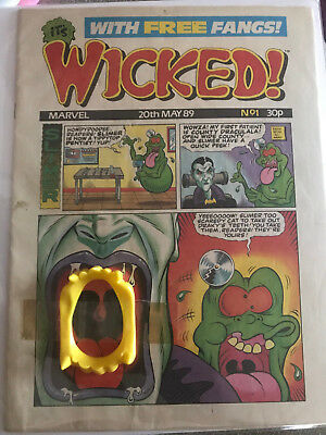#1 Comic - Wicked! with free gift