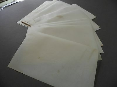 """12"""" x 7"""" cut sheets Genuine sheepskin parchment for caligraphy/bookbinding etc."""