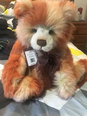 Charlie Bear Tango. Display Bear Only With Tags Rrp $115
