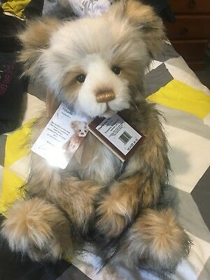 Charlie Bear 2017 Year Bear With Tags Display Only. Rrp. $130