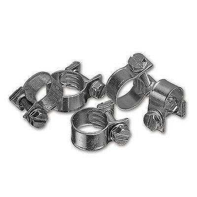 LMA Stainless Steel Rally/Motorsport Petrol Pipe Hose Clips 15-17mm - Pack Of 2