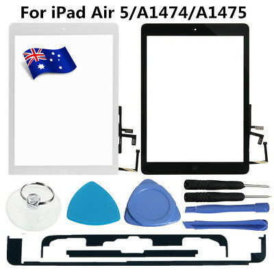 AU Touch Screen Digitizer Glass Lens w/Home Key Tool For iPad Air 5 A1474 /A1475