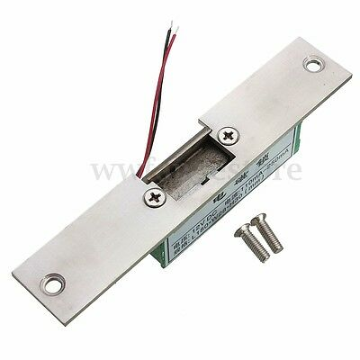 AU 12V Fail Safe Electric Strike Lock NC Narrow-type Door For Access Control New