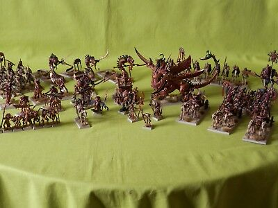 Warhammer Painted Tomb Kings Army - Many Units To Choose From