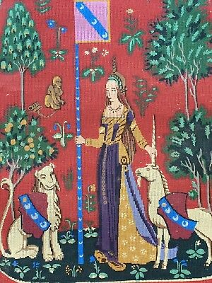 """""""Le Toucher"""" (Detail) Stunning  Danish OOE Tapestry Canvas #100-2194 New"""
