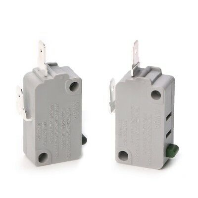 2Pcs KW3A Microwave Oven Door Micro Switch 16A 125V/250V Normally Open Switch