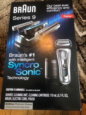 Braun Series 9 9090cc Cord/Cordless Rechargeable  Men's Electric Shaver