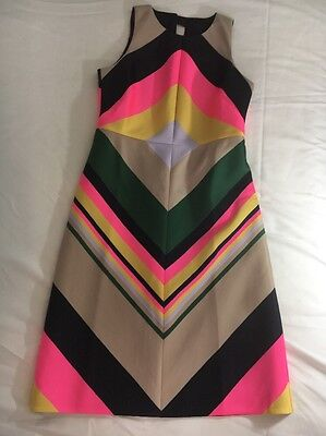 379c94289f8 J CREW COLLECTION Tall pop-stripe dress SZ 4 Tall -  74.99
