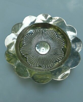 Vintage Footed Tiffany & Company Sterling Silver Nut or Candy Dish