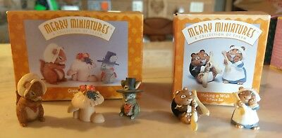 Hallmark Merry Miniatures Thanksgiving MIB!