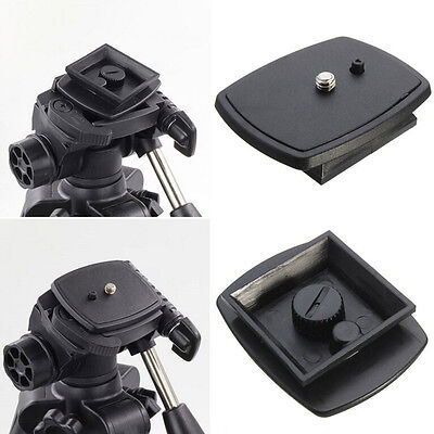 Tripod Quick Release Plate Screw Adapter Mount Head For DSLR SLR Camera MW