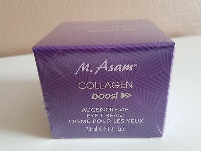 (100 ml/66,50€) M.Asam Collagen boost Augencreme 30 ml neu