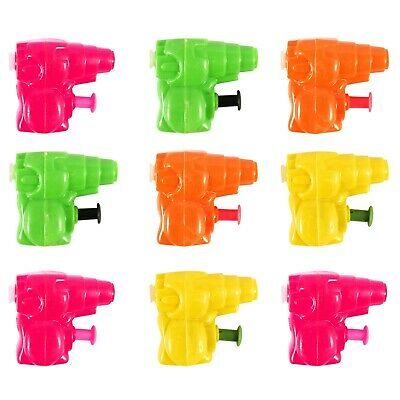1/6/12/24/36/48 Mini Water Pistols Squirt Guns Coloured Plastic Party Bag Filler