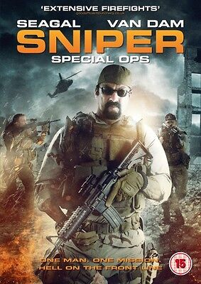 Sniper Special Ops (DVD) (NEW AND SEALED) (STEVEN SEAGAL) (REGION 2)