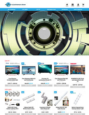 Established Electronics Store Profitable Website Business For Sale - Dropshiping