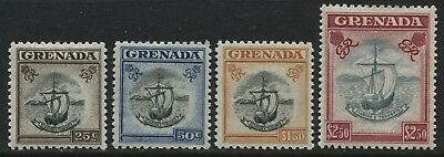 Grenada 1951 25 cents to $2.50 mint o.g. (JD)