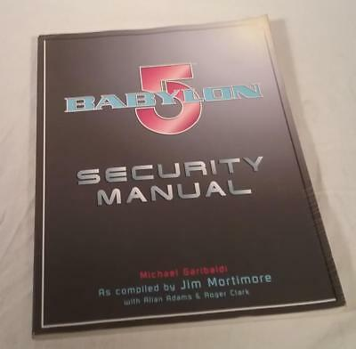 1998 First American Edition Babylon 5 Security Manual