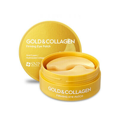 SNP Gold Collagen Facial Moisture Anti-Wrinkle Under Eye Zone Patch Mask Gel