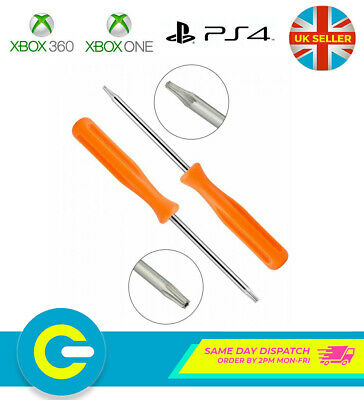 3x Xbox One & 360 Controller Torx T6 T8 T10 Security Opening Screw Driver