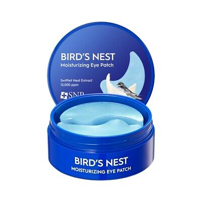 SNP Bird's Nest Aqua Anti-Wrinkle Hydro Facial Under Eye Zone Patch Mask Gel Pad